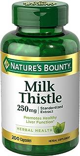Nature's Bounty - Milk Thistle 250 mg Capsules