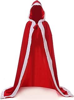 Winter Women's Bridal Wedding Cape Cloak Hooded Costume