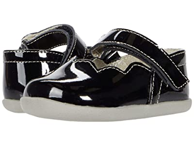 See Kai Run Kids Susie (Infant/Toddler) (Black Patent) Girl