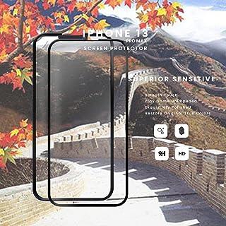 skärmskydd kompatibelt Kompatibel för apple 2-pack iPhone 13 PRO MAX - 9D härdat glas - Toppkvalitet / RIVANOO SCREEN PROT...
