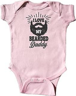 i love my bearded daddy onesie