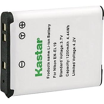 2x INTENSILO BATTERY 700mAh for Nikon CoolPix S6400 S3500 S32  EN-EL19