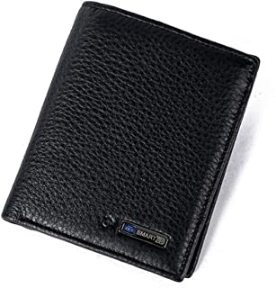 KUKOO Anti Lost Wallet Smart Bluetooth Tracking Purse Cowhide Bifold Card holder