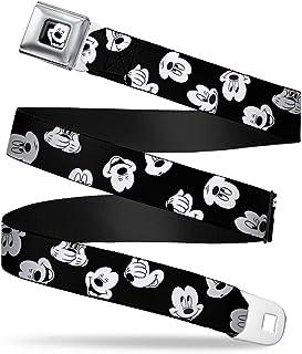 Regular Multicolor Buckle Down Boys Classic Garfield /& Odie Snapshots Seatbelt Belt