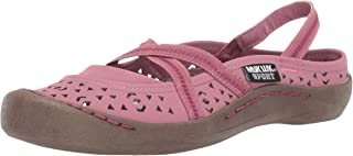 MUK LUKS Women's Erin Sport Shoe-Rose Sandal