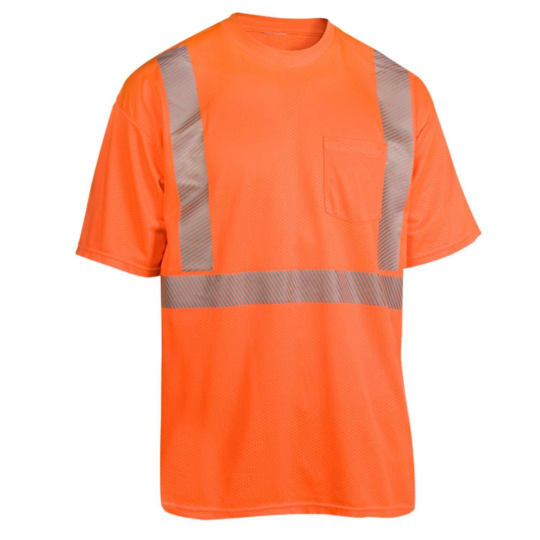 Jacksonville Mall Radians HV-XTS-AR-P-L online shopping Short Sleeve Orange Breezelite Me Original