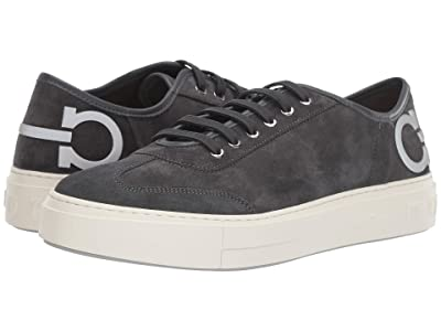 Salvatore Ferragamo Truman Sneaker (Asfalto Grey) Men