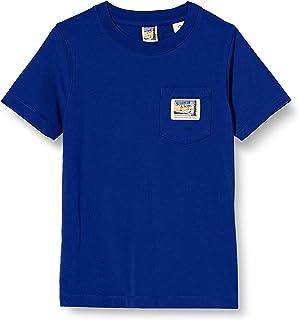 Scotch & Soda Short Sleeve tee In Organic Cotton Quality with Pocket Camisa para Niños