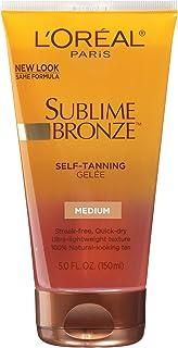 L'Oreal Dermo-Expertise Sublime Bronze Self-Tanning Gelee, Medium-Natural, 5 fl oz (150 ml)