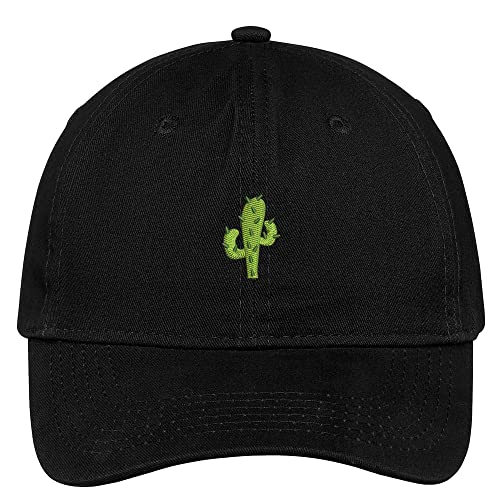 ccfd32575a4 Trendy Apparel Shop Small Cactus Embroidered Soft Cotton Low Profile Dad  Hat Baseball Cap