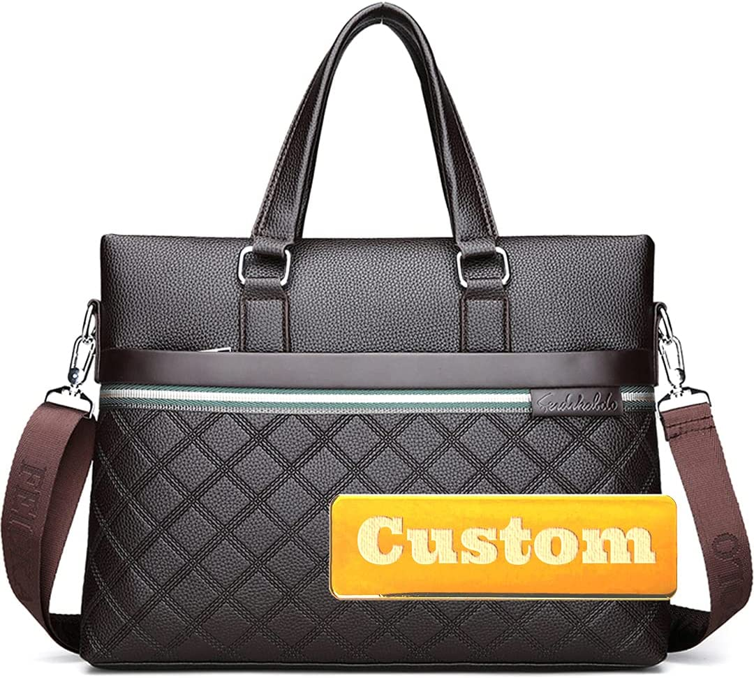 DDUU Personalized Custom Name Laptop Briefcase Messenger Ba Bags Limited time OFFicial trial price