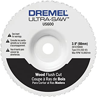 Dremel US600-01 Ultra-Saw 4-Inch Wood Flush Cut Wheel