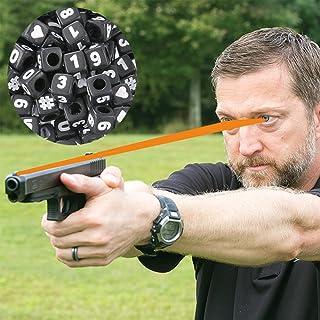 Chris Sajnog アドバンスフォーカスストリング – 銃器ビジョントレーニングツール – 自宅で目を鍛え、両目を開けてより速く撮影 + 無料のオンラインビデオ説明ネイビーシールスナイパーインストラクター付き
