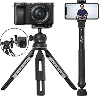 "6 in 1 Monopod Tripod Kit by Altura Photo – Universal 55"" Telescoping DSLR Camera,.."