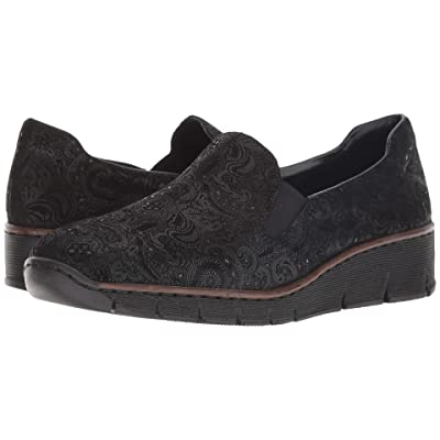 Rieker 53766 Doris 66 (Black) Women