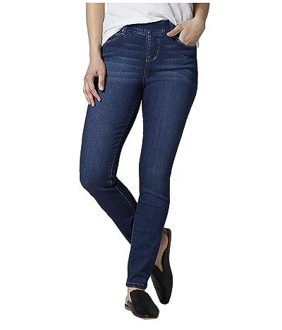 Jag Jeans Petite Petite Bryn Skinny Pull-On Jeans (Mid Indigo) Women