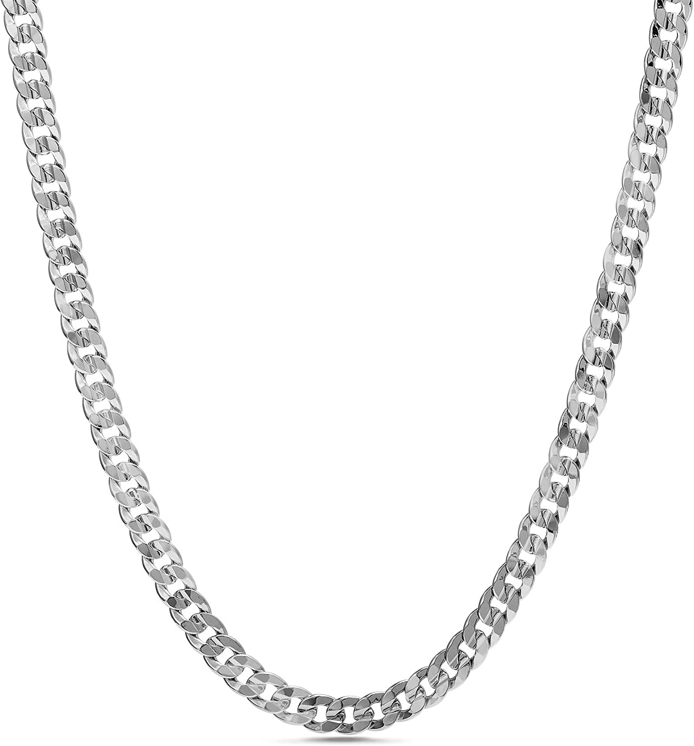 Nautica Free Shipping New 1.2mm Inexpensive - 2.3mm Miami Cuban Chain Men for Wome Necklace or