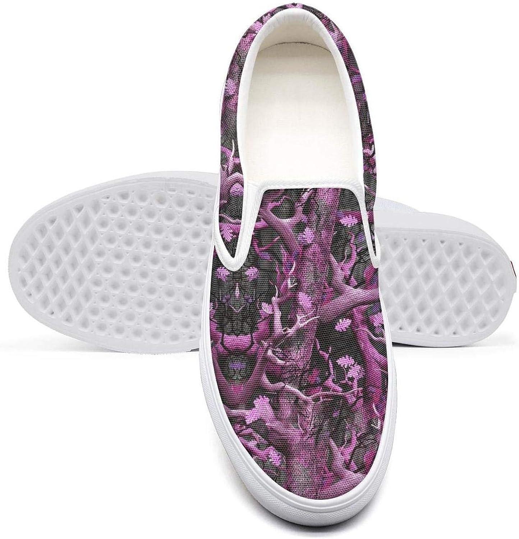 Vosda Dot Digital camo Classic Women Canvas Slip-Ons Loafer shoes Sneaker