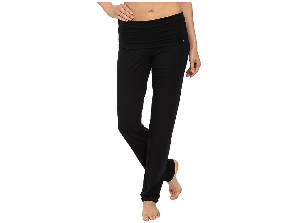 Hanro Yoga Basics Lounge Pants (Black) Women