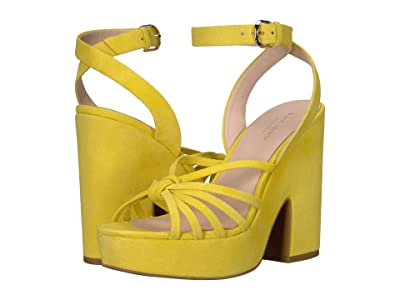 Kate Spade New York Glenn (Vibrant Canary Suede) Women