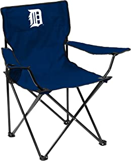 NCAA Detroit Tigers Adult Quad Chair, Navy