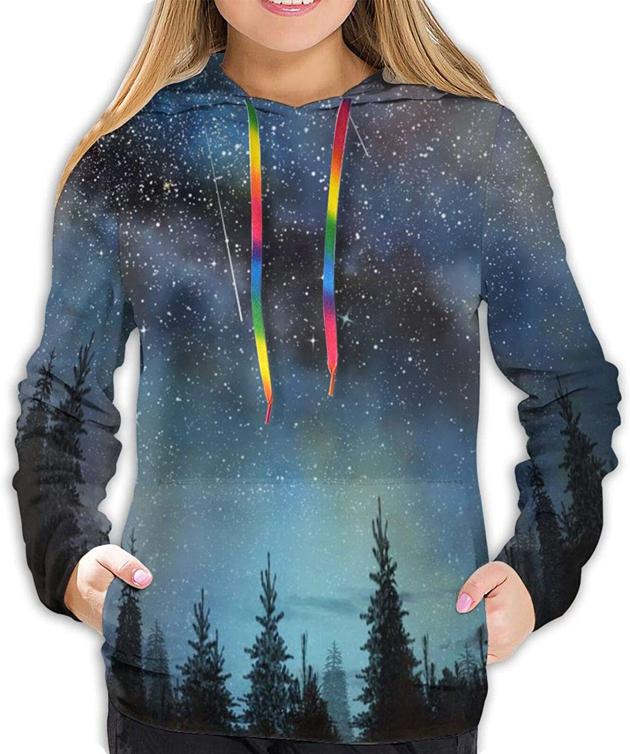 outlet Stylish OFFicial Star Hoodies Women 3D Casual Sweatshirts Pullover Hoodie
