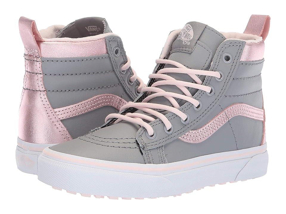 Vans Kids SK8-Hi MTE (Little Kid/Big Kid) ((MTE) Metallic/Alloy/Heavenly Pink) Girls Shoes