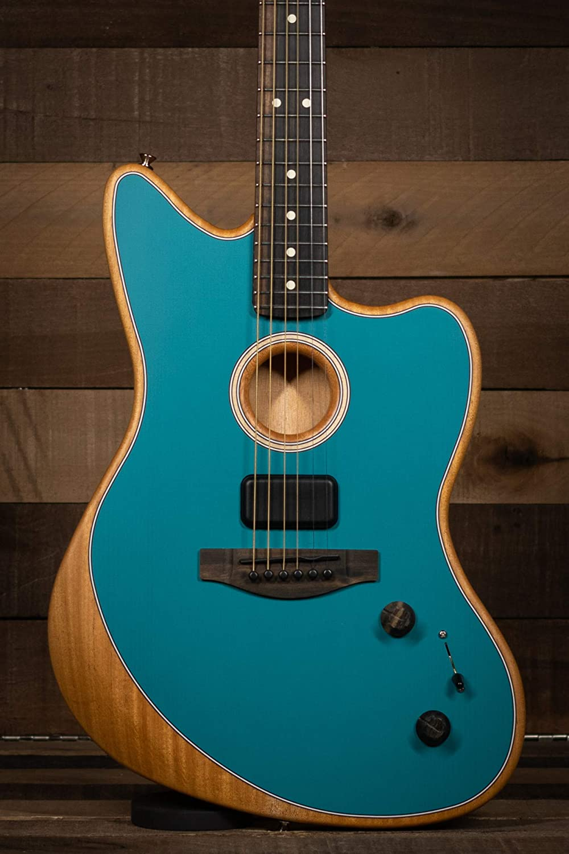 Fender American Acoustasonic Jazzmaster Ocean Ebony Ranking TOP3 Spasm price Turquoise Fi