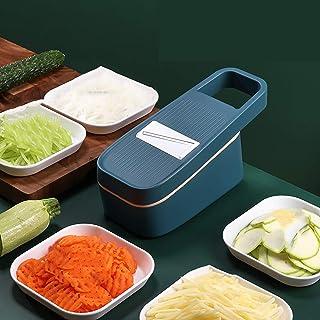 Yizc Coupe-légumes Manuel,Patate Tomate Salade Fruits Cutter Food Cutter Spiralizer pour Cuisine,Trancheur De Mandoline Râ...