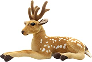 TAGLN Stuffed Animals Sika Spotted Deer Toys Plush (24 Inch)