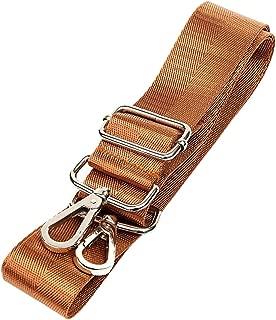 SODIAL Replacement Shoulder Messenger Bag Adjustable Strap Luggage Camera Bag, Brown 1PCS