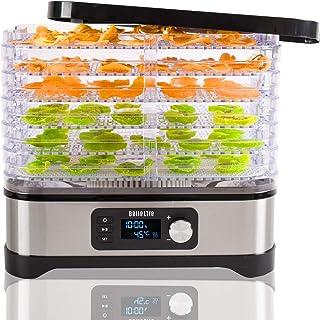 déshydrateur alimentaire,Déshydrateur Bellelife avec régulateur de température, déshydrateur avec 6 étagères, 400W, 35-70...