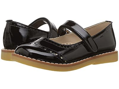 Elephantito Martina Flats (Toddler/Little Kid/Big Kid) (Patent Black) Girls Shoes