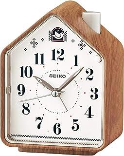 Seiko QHP005A, Orologio Analogico in Plastica, Marrone (Braun)