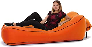 Quickcity Inflatable Lounger Portable Hammock Air Sofa and Camping Chair Ideal Inflatable Couch and Beach Chair Camping Accessories for Picnics & Festivals