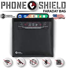 Mission Darkness Non-Window Faraday Bag for Phones - Device Shielding for Law Enforcement, Military, Executive Privacy, Tr...