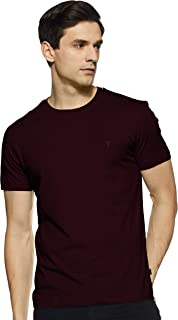 Van Heusen Athleisure Men's Solid Regular fit T-Shirt