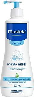 Mustela Crema Corporal Hidratante para Piel Normal, 500 ml