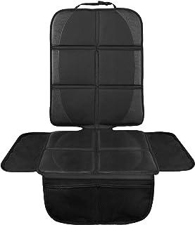 LIONSTRONG Kindersitzunterlage, ISOFIX geeignete Unterlage für Kindersitze, Sitzschoner zum Schutz Ihrer Autositze Kindersitzunterlage - groß