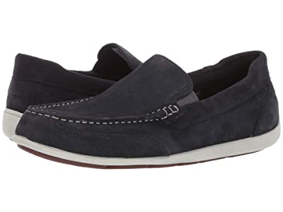 Rockport Bennett Lane 4 Venetian (Navy Suede) Men