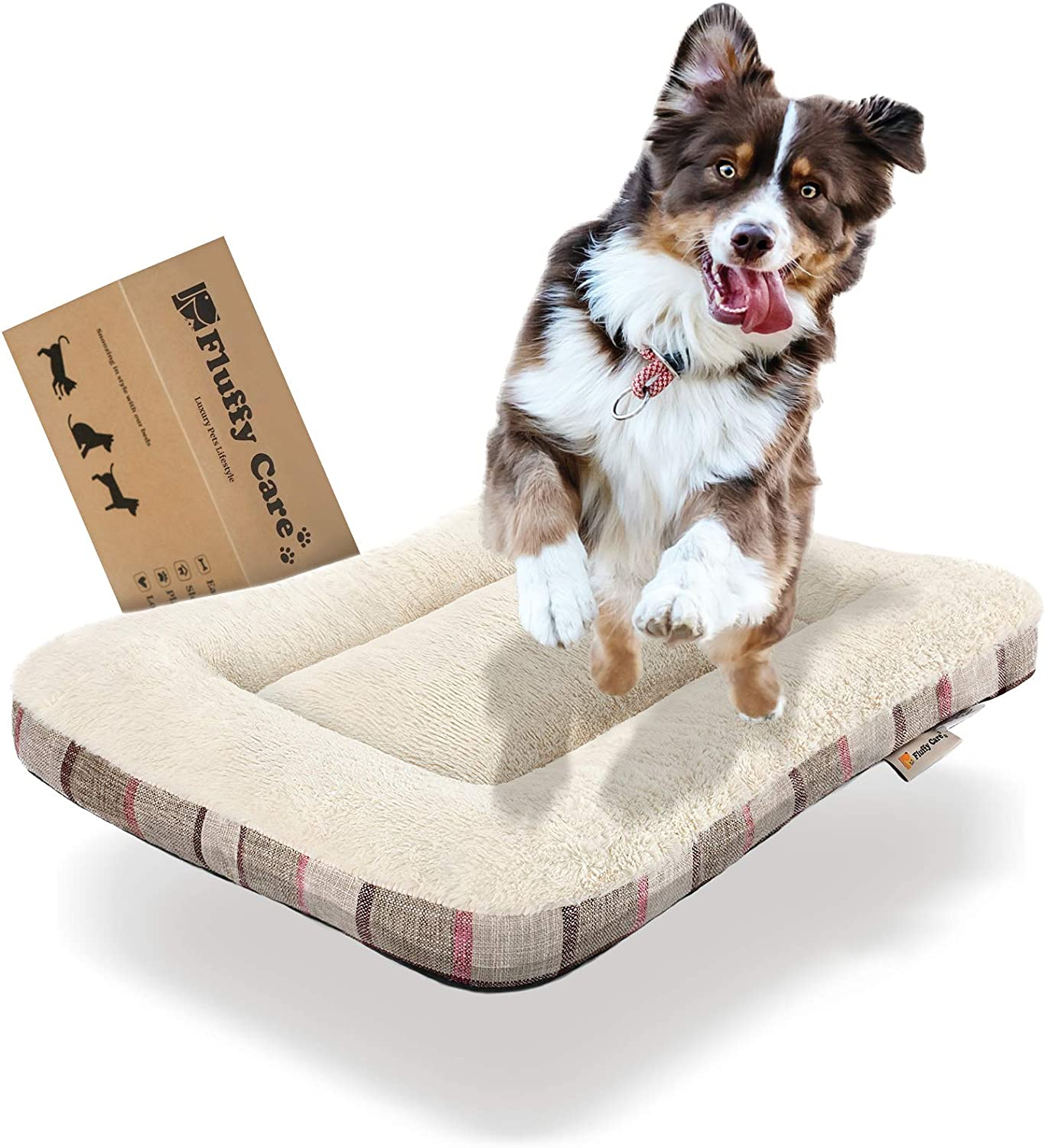 Fluffy Care Dog Bed Crate MatPetBed Ma Pad Now on sale Puppy Mat Ranking TOP2