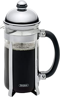 BonJour Coffee 8-Cup Maximus French Press, Stainless Steel