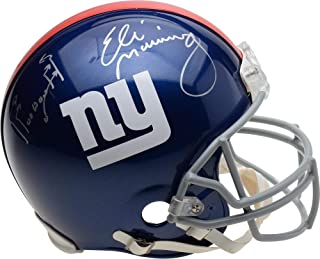 Eli Manning New York Giants Autographed Riddell Authentic Helmet with