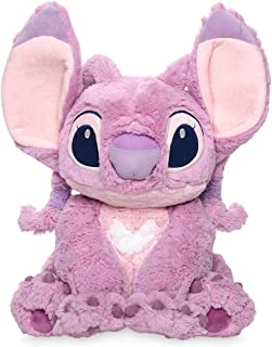 Official Disney Lilo and Stitch Medium Pink Angel Soft Plush Toy 37 Centimeter