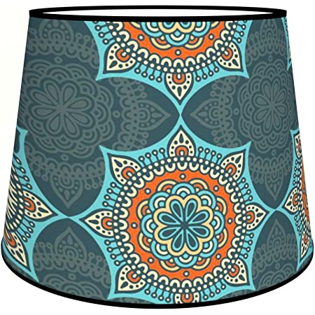 Abat-jours 7111304030297 Conique Casa Lampadaire, Tissus/PVC, Multicolore