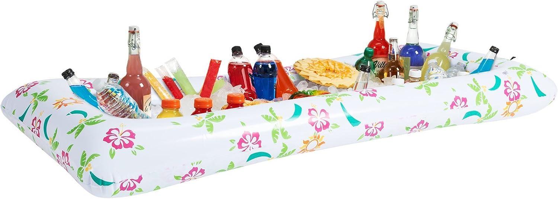 Fun Express aufblasbarer Kühler Tropical Buffet Party Supplies