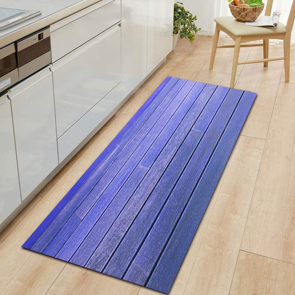 OPLJ Simple and Colorful Wood All items free shipping Grain Bedr Kitchen mat Challenge the lowest price of Japan ☆ Carpet Door