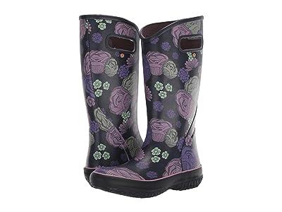 Bogs Rain Boot Le Jardin (Eggplant Multi) Women
