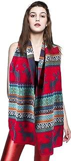 Women Winter Plaid Blanket Scarf Fashion Warm Wrap Lovely Oversized Shawl Scarf