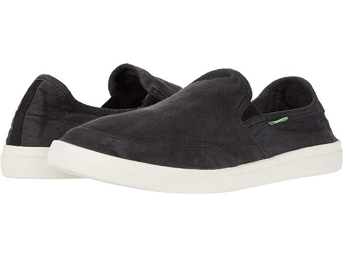 Sanuk Vagabond Footwear Slip On Trainers Brown All Sizes